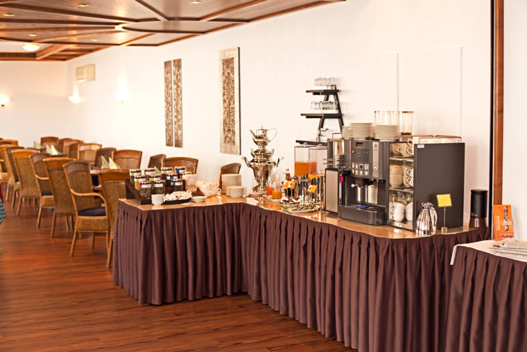 Frühstücksbuffet von Hotel Theresientor